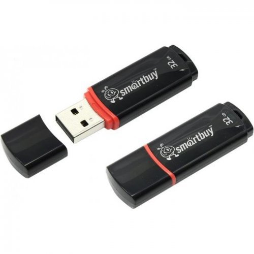 Флэш-драйвы Smart Buy USB 32GB Crown black