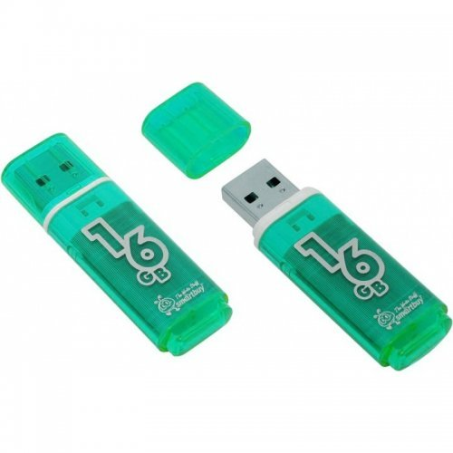 Флэш-драйвы Smart Buy USB 16GB Glossy series Green