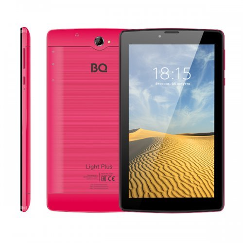 Планшет BQ 7038G Light plus 3G 7* red