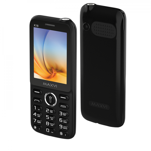 Maxvi K18  Black