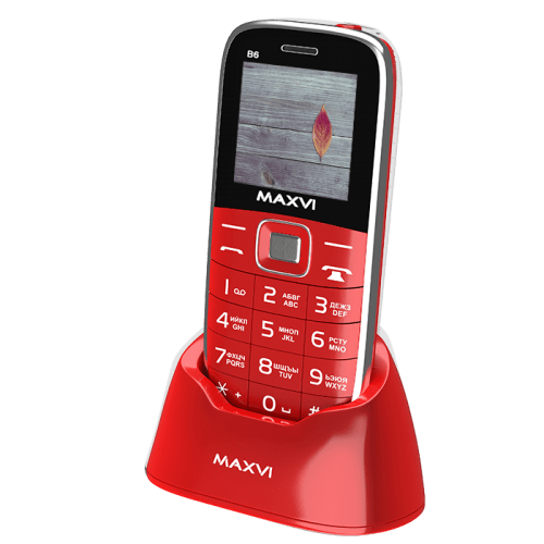 Maxvi B6 red