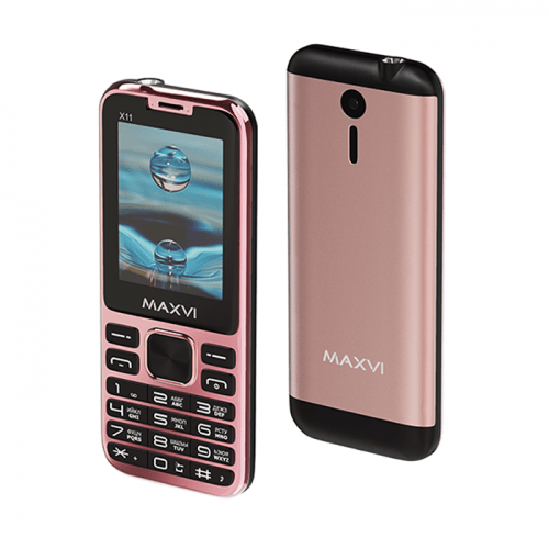 Maxvi X11 rose gold